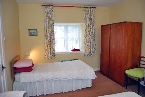 The Single Bed in Triple Room  in The Rowans Sef Catering Tobermory